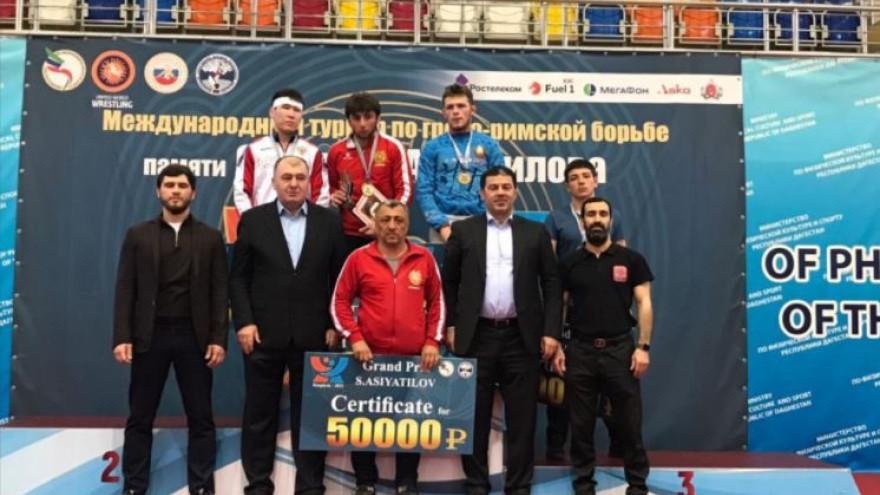 Ямальские борцы успешно выступили в составе сборной страны на международном турнире