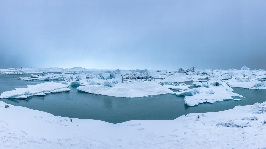 Mosaic: толщина арктических льдов стала меньше в два раза за последние 40 лет