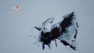 Впервые в истории три атомные подводные лодки одновременно всплыли во льдах Арктики (ВИДЕО)