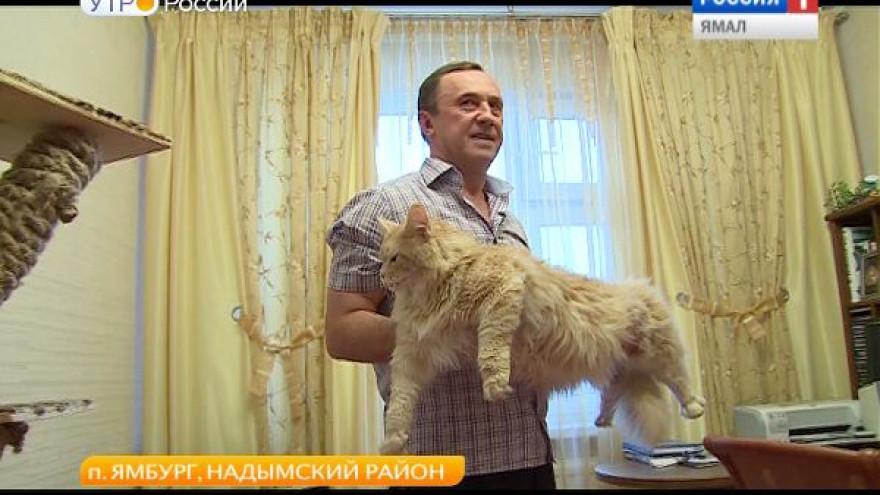 Даже в самых отдаленных уголках Ямала люди обзаводятся домашними питомцами