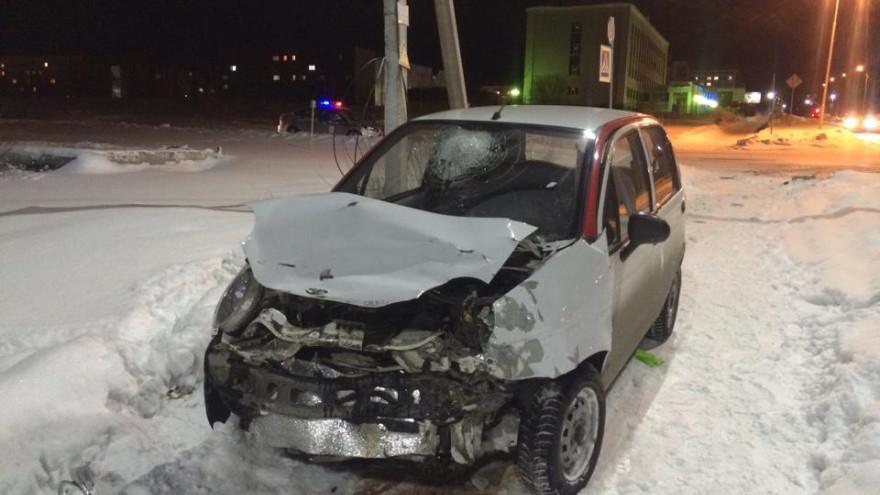 В Ноябрьске произошла авария, есть пострадавшие