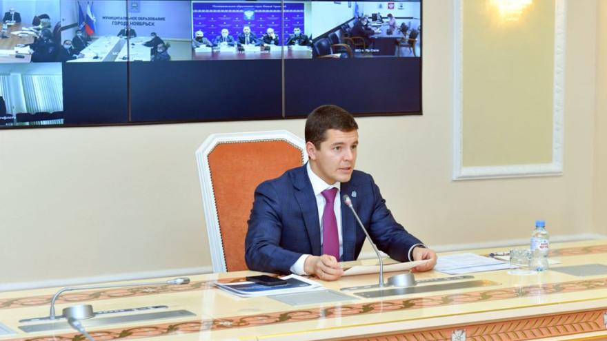 Дмитрий Артюхов поручил усилить меры антитеррористической безопасности в регионе