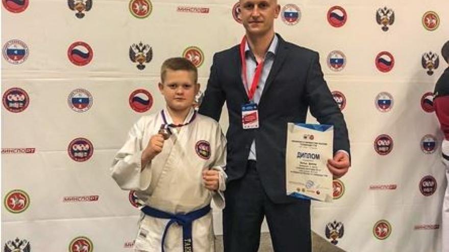 Юный спортсмен из Салехарда выиграл серебряную медаль на Первенстве России по тхэквондо 