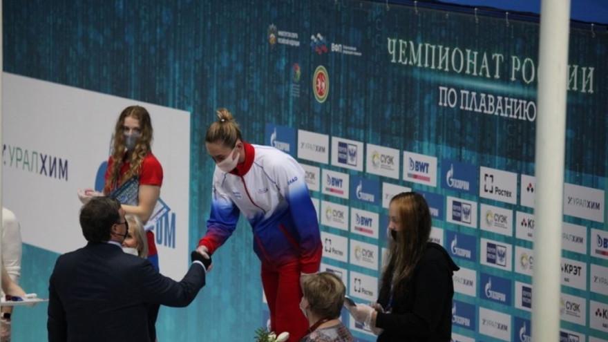 Ямальская пловчиха Анастасия Фесикова стала чемпионкой России и отобралась на Олимпиаду в Токио