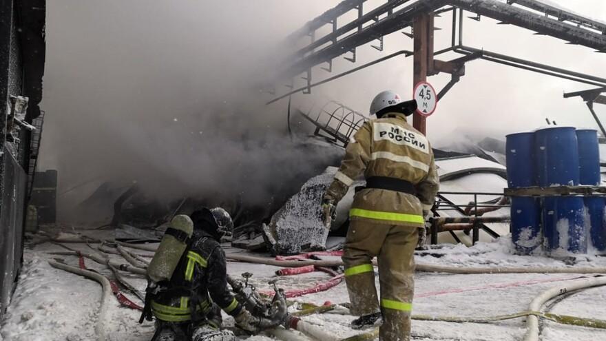 На месторождении в Пуровском районе произошёл пожар: погибли два человека