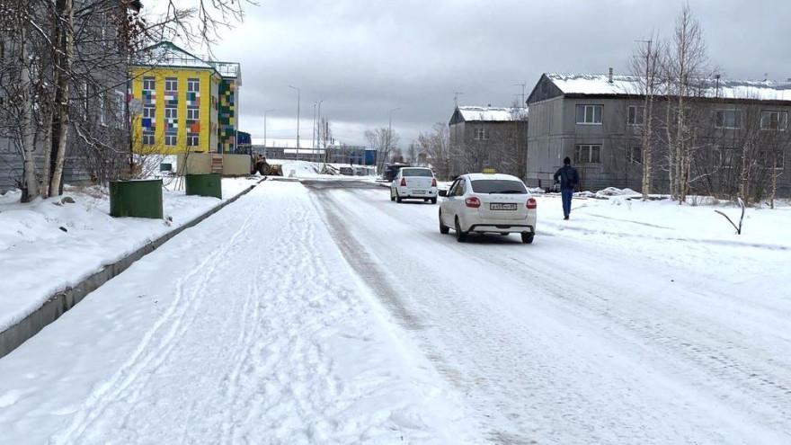 В Губкинском проложили дорогу до дач и отремонтировали подъезд к новому детсаду