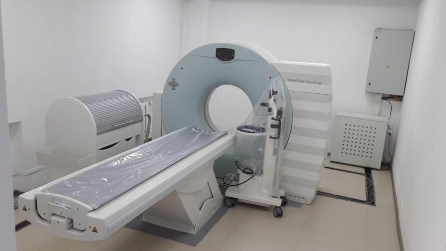 В Ноябрьске ожидают новый компьютерный томограф