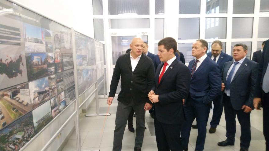В Лабытнанги открылся спортивный комплекс «Полярный»