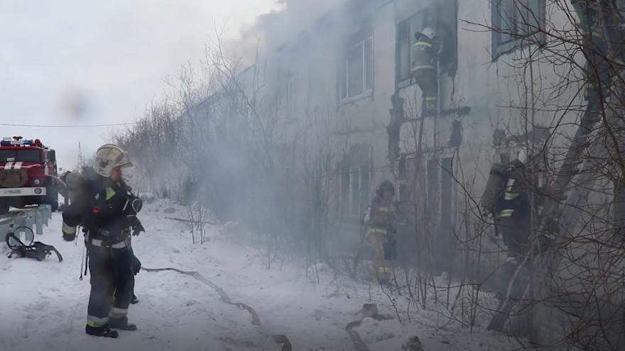 После пожара в Салехарде прокуратура начала проверку