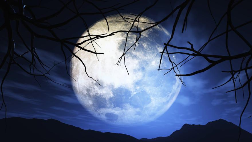 Голубая Луна: что ждать от полнолуния в августе 2021