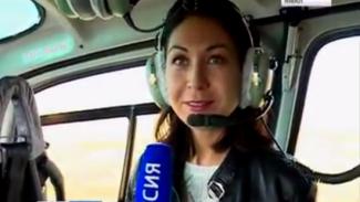 Как выглядят ямальские красоты из кабины пилота