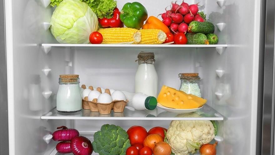 кусочки сливочного холодильник фото с продуктами конкретное время приготовления