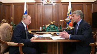 Леонид Михельсон доложил Владимиру Путину о работе «Ямал СПГ»