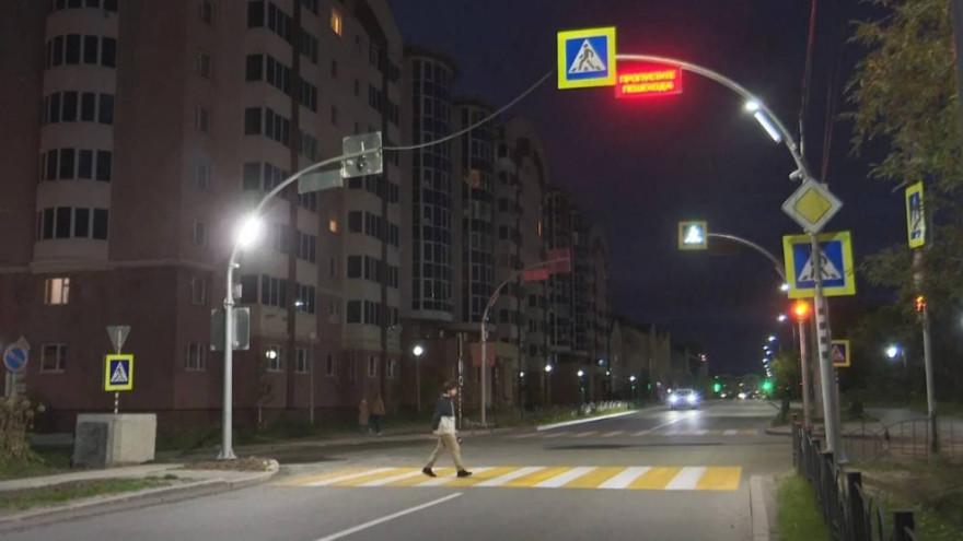 Еще в двух городах Ямала появятся «умные» пешеходные переходы