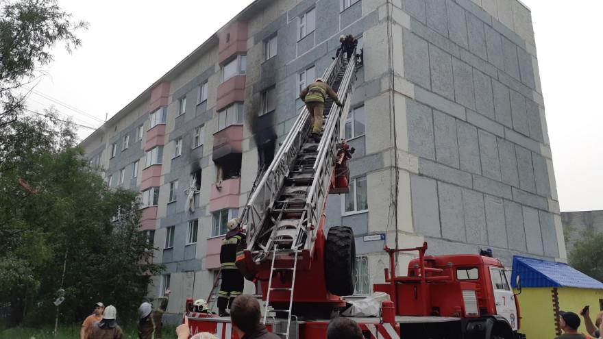 Прокуратура начала проверку после взрыва газа в жилом доме Нового Уренгоя