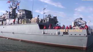 Новый минный тральщик «Яков Баляев» прибыл в Петропавловск-Камчатский
