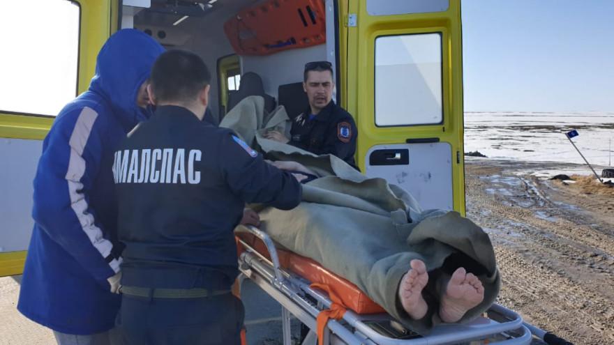 Без сознания посреди тундры: на Ямале провели сложную спасательную операцию