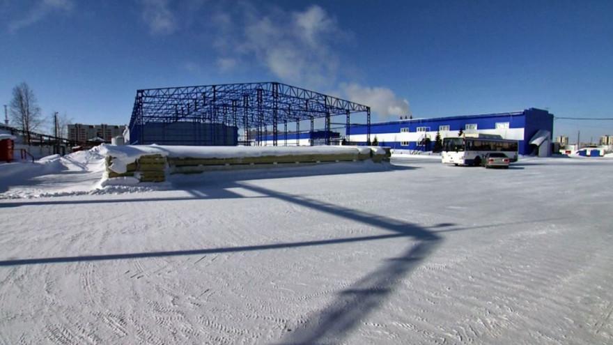 В Новом Уренгое строят спецбоксы для машин на газомоторном топливе