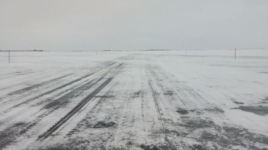 Участок зимника Салемал – Панаевск открыли для движения