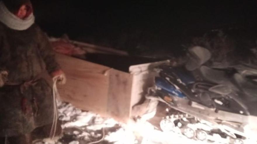 Очередное спасение в тундре: Ямалспасовцы помогли мужчине, у которого сломался снегоход