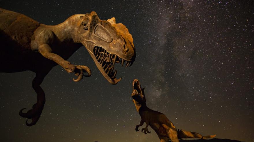 Ученые обнаружили останки арктического динозавра