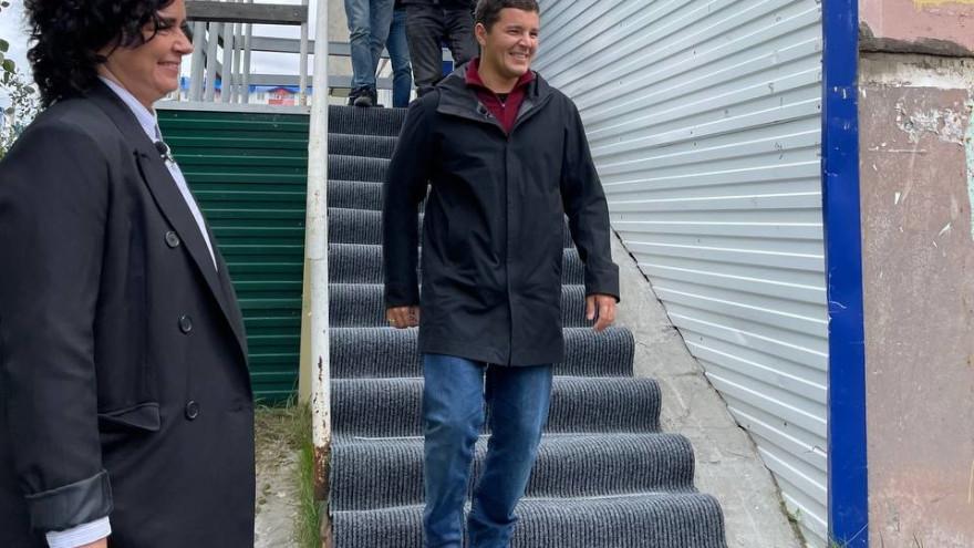 Перинатальный центр и школа в Ноябрьске: честный маршрут Дмитрия Артюхова продолжается