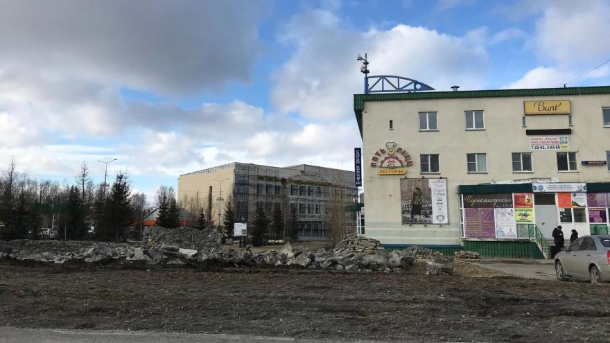 Сквер «Сияние Севера» в Салехарде преобразится к сентябрю 2021 года