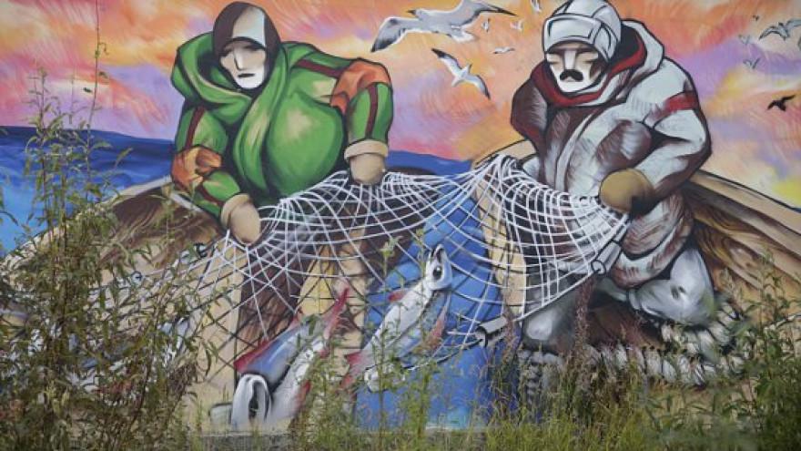 Рисунок пока в секрете. В Салехарде появится граффити размером с 5-этажный дом