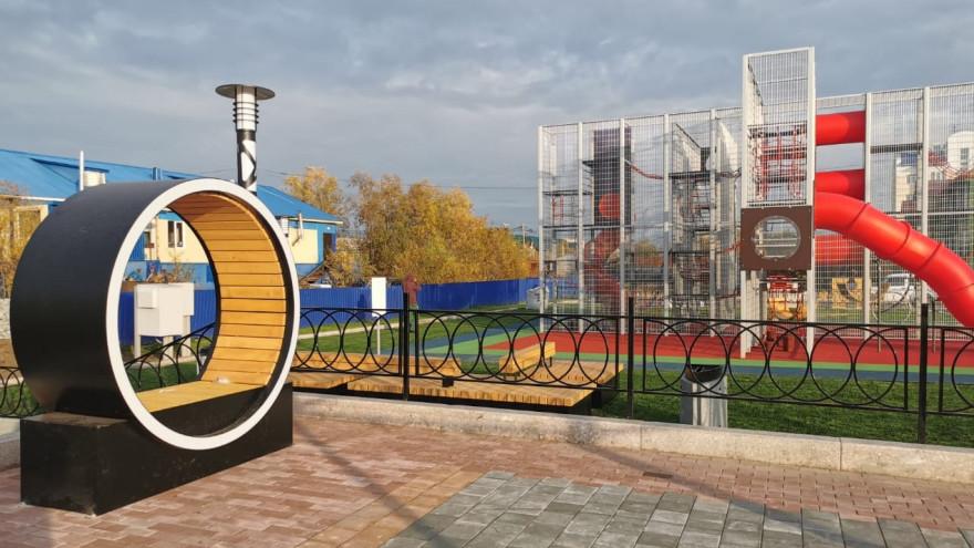 Лучшие в России: на Ямале нашли образцовые детские площадки