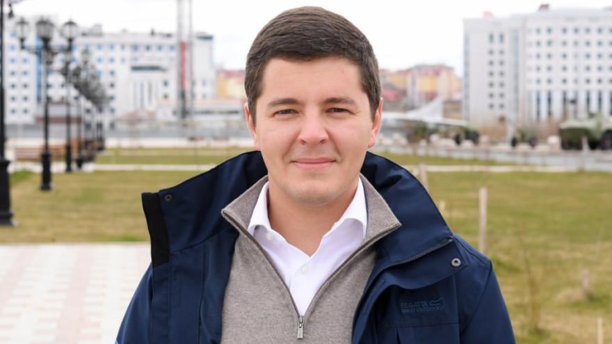 Губернатор Ямала Дмитрий Артюхов поздравил жителей округа со Светлым Христовым Воскресением