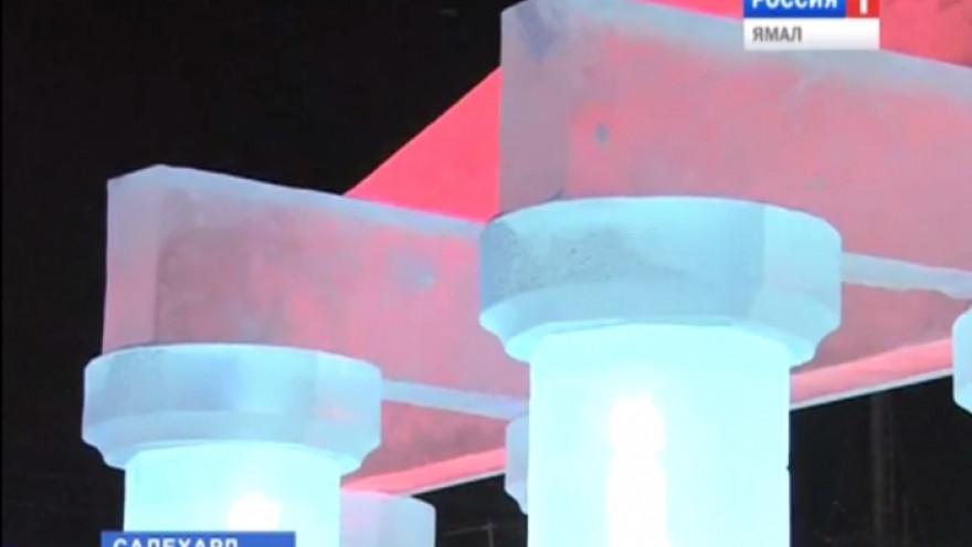 В начале ноября в Салехарде начнется строительство ледового городка