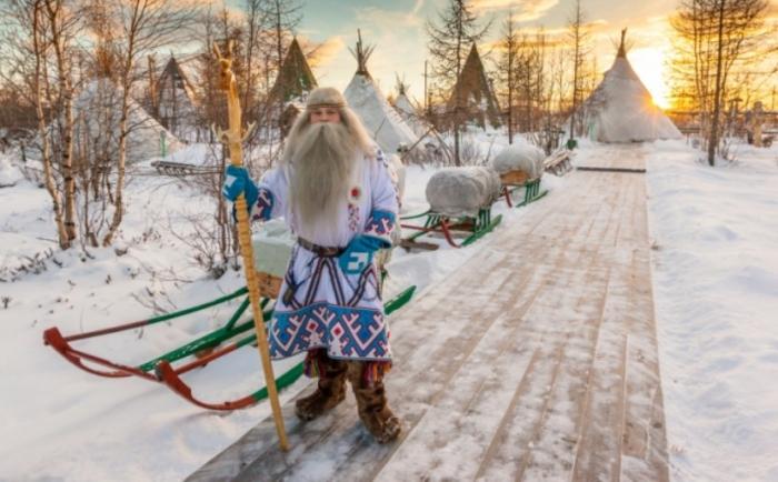 Популярных фольклорных персонажей Ямала нанесли на сказочную карту России