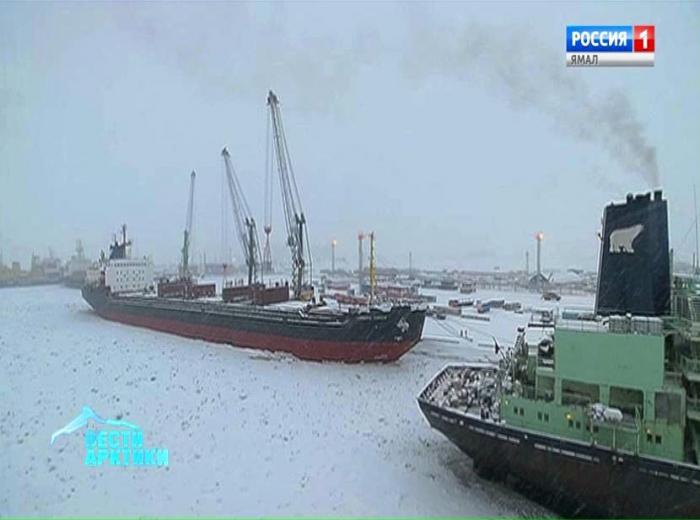 Состав флота порта Сабетта пополнится несколькими судами