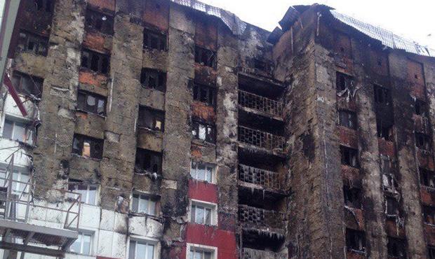 «Он сгорел практически на наших глазах». В страшном пожаре, который недавно произошел в Тюмени, пострадала ямальская семья