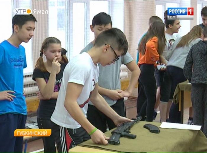АК-47М освоили подростки Губкинского