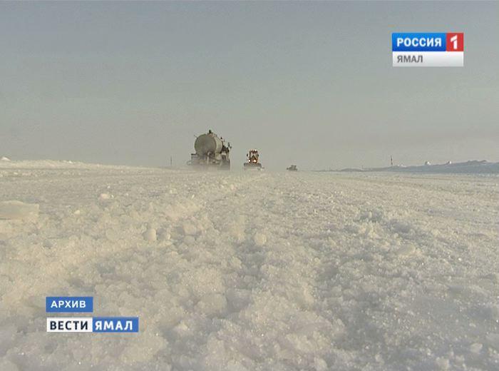 Закрывается участок зимника на границе с Югрой