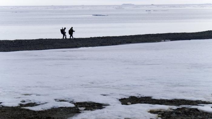 Русские гидрографы открыли остров врайоне свежей Земли