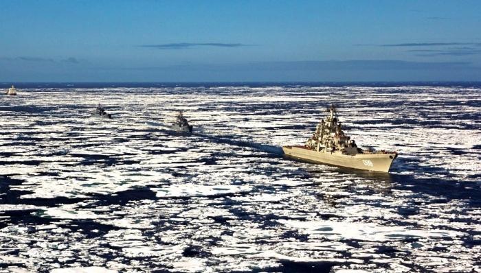 Боевая группировка Северного флота направляется в Арктику