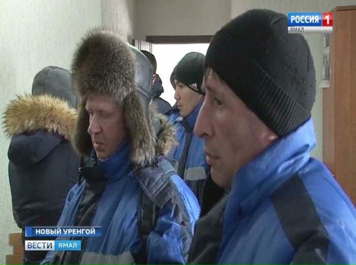 На Русском месторождении закончился бунт вахтовиков
