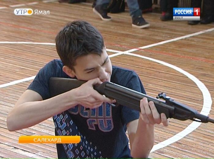 Следователи против школьников: необычная военизированная эстафета прошла в окружной столице