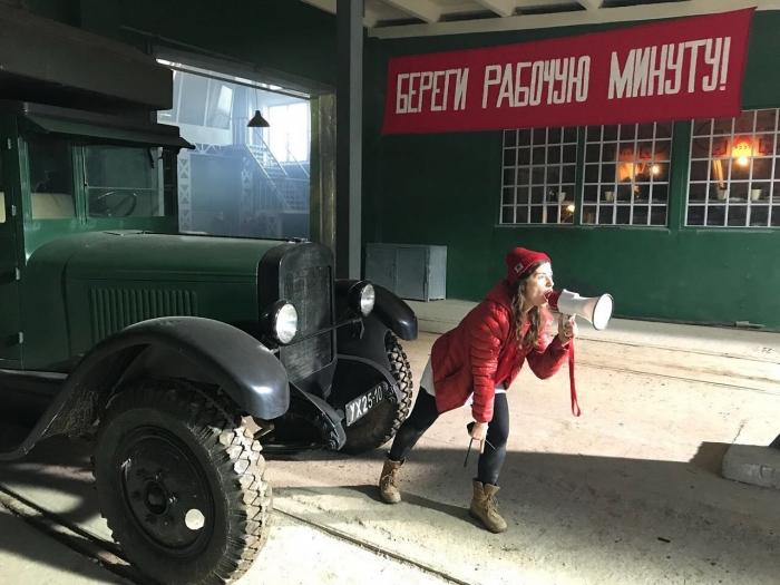 Наша землячка из Тарко-Сале приняла участие в съемках фильма «Танки» от режиссера «28 панфиловцев»