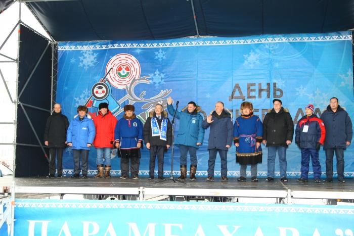 ВНадыме проходят состязания оленеводов наКубок губернатора Ямала