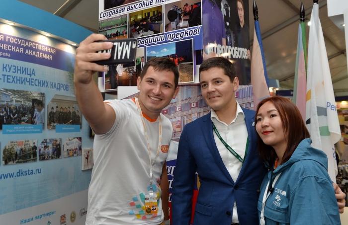 Дмитрий Артюхов пообщался с участниками форума «Территория смыслов на Клязьме»
