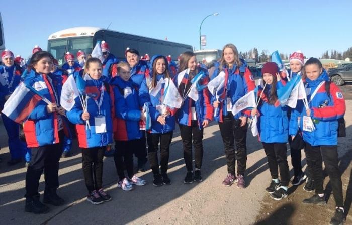 Сразу четыре золотые медали «добыли» юные ямальские фигуристки из Салехарда на Арктических играх в Канаде