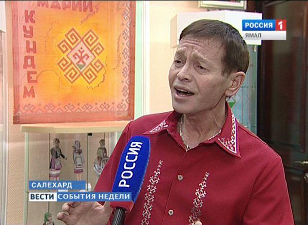 Певец из Республики Марий Эл Анатолий Зарецких