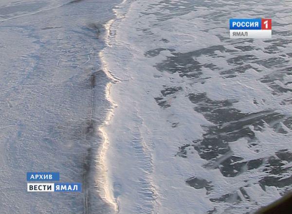 Ледяные просторы Ямала