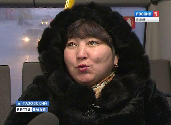 Жительница поселка Тазвоский