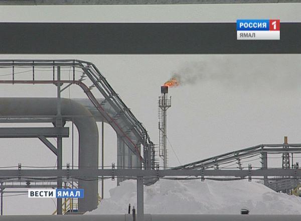 Добыча природного газа на Ямале