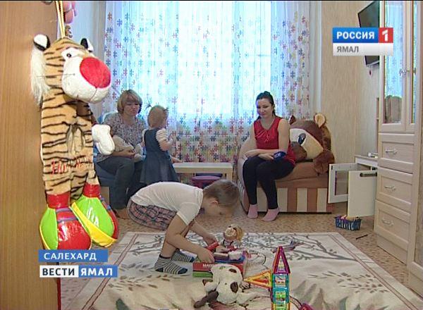 Многодетная и приемная мама Елена Ганжерли, Ямал