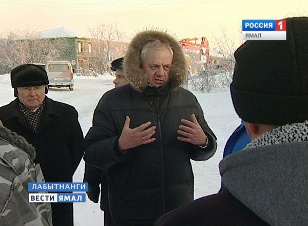 Экс глава администрации города Лабытнанги Олег Черевко